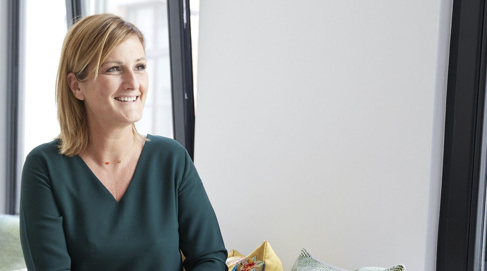 Het verhaal van Ann Devynck, Business Manager