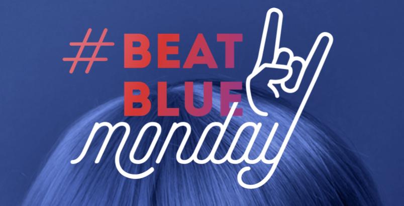 Beat Blue Monday challenge